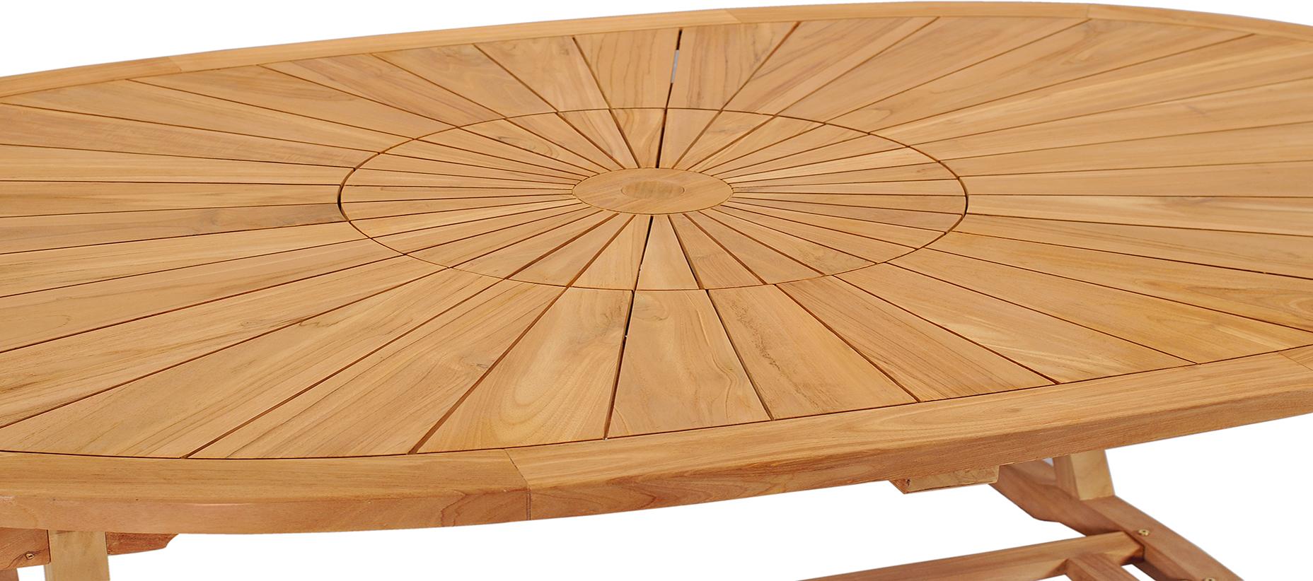 premium oval table