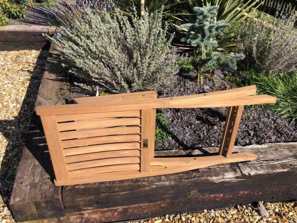 folding teak garden chair