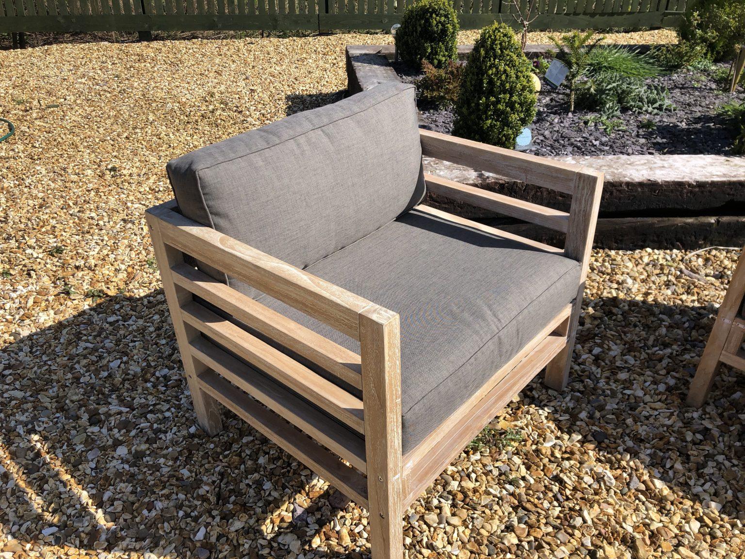 teak sofa chair