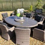 garden furniture set rattan