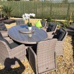 woven table set