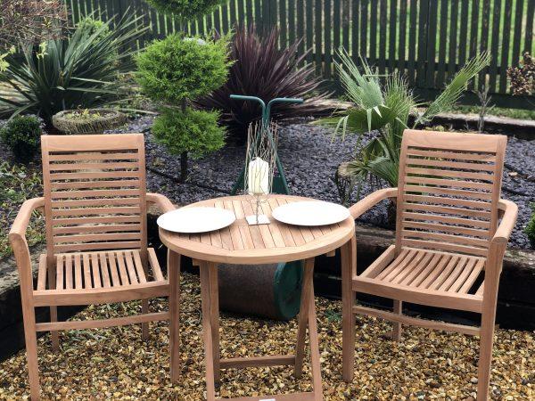 Teak Garden Furniture Bistro Set